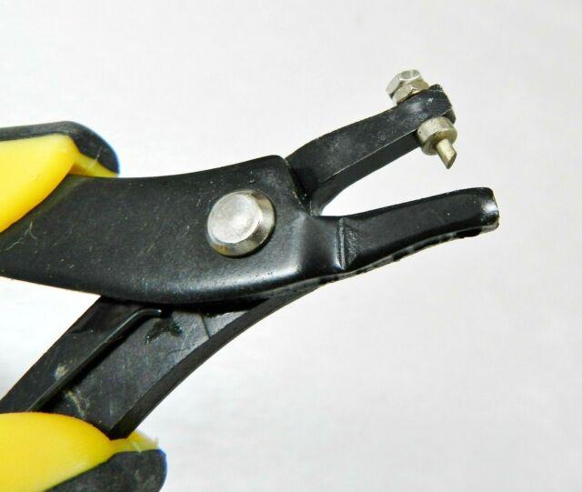 Eurotool EuroPunch Plier 1x1.7mm Oval Hole Punch Pliers Soft Sheet Metal Punch