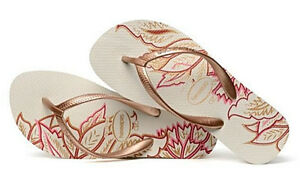 c06c5f70748db6 Havaianas Women`s Flip Flops High Light II White Rose Gold Sexy ...