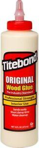 Colla per legno professionale Titebond, Bottiglia con beccuccio applicatore 454g