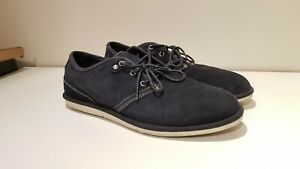 Timberland-Navy-Blue-Smart-Casual-Dress-Shoes-Men-039-s-Size-US10