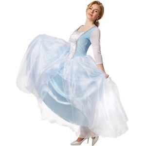 Caricamento dell immagine in corso Principessa-Cenerentola-Costume-da-Donna- Carnevale-Halloween-Vestito- 8dbed89a1c92