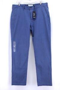 100% Vrai Neuf Bleu Pour Hommes Express Hayden Pantalon Coupe Skinny Extensible Slim 33 X Amener Plus De Commodité Aux Gens Dans Leur Vie Quotidienne