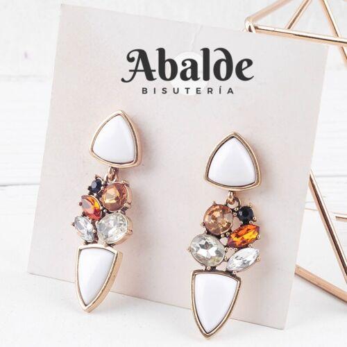 Pendientes Mujer Joya Con Cristales Moda Za Accesorio Regalo ideal Cumpleaños
