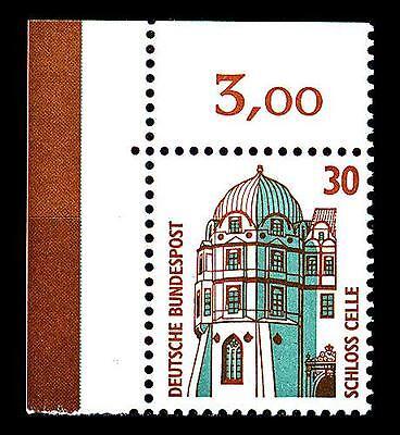 Temperamentvoll Bund Swk 30 Pf. **, Mi. 1339 - Eckrand O.l.- Schloss Celle Auf Dem Internationalen Markt Hohes Ansehen GenießEn
