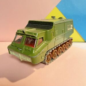Vintage-Gerry-Anderson-UFO-Shado-2-Dinky-Toys-Rare-Flat-Green-Roof-Nice-Conditon