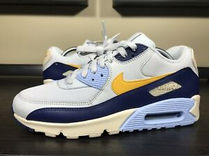 low priced 65021 99778 Details about Nike Air Max 90 Essential Men's size 9 Running Shoe  AJ1285-008 Platinum Yellow