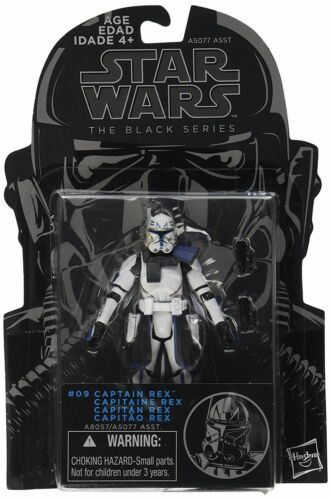Hasbro Star Wars The Black Series Clone Captain Rex figurine