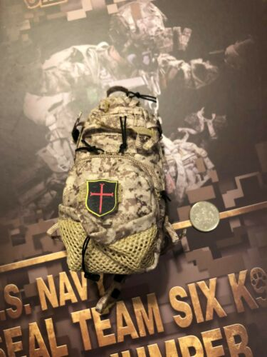 MINI TIMES US Navy Seal Team 6 K9 HALO Jumper AOR1 Back Pack loose 1//6th scale