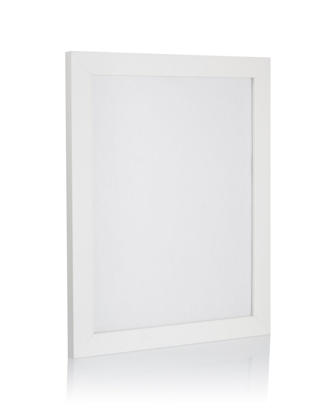 A1 A2 A3+ A4 de nombreuses Grandes Tailles Blanc Photo Photo Blanc Poster cadres Home Decor À faire soi-même 89abbf