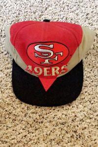 Vintage San Francisco 49ers Hat Snapback Cap Logo Athletic Splash ... bf6ae5c5c