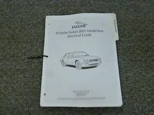 2001 Jaguar XJ XJ8 XJ8L Vanden Plas Sedan Electrical Wiring Diagram Manual    eBayeBay