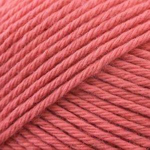 3674 SHRIMP Stylecraft Classique 100/% Cotton Double Knitting Wool Yarn