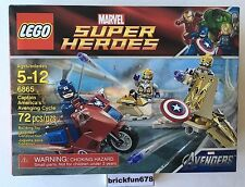 LEGO Marvel Super Heroes Captain America's Avenging Cycle (6865)