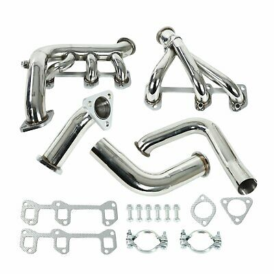 FOR 84-85 BUICK REHAL 3.8L TURBO RACING TUBULAR MANIFOLD EXHAUST HEADER W//Y-PIPE