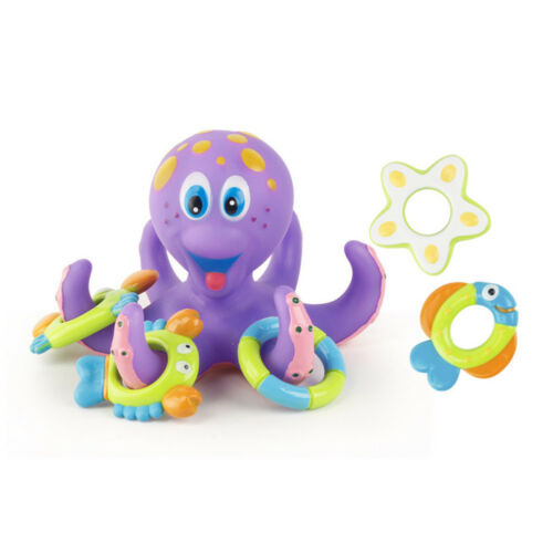 Laughing Baby Bath Toys Kids Bathtub Toy Octopus Pool Water Floating US STOCK
