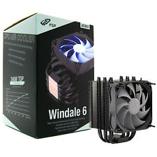 FSP Windale 6 CPU Cooler 6 Direct Contact Heatpipes w/ 120mm PWM LED Fan (AC601)