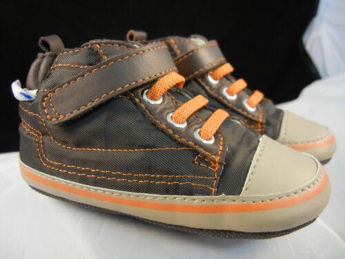 6-9 Months NIB Robeez Mini Shoez Urban Hi Top H/&L LC RB32389 Sz 3-6