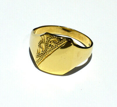 Bailey of Hollywood Mens Gold-Ring