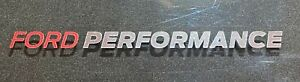 Ford-Fiesta-Focus-ST-RS-Ford-Performance-silver-chrome-effect-decal-sticker