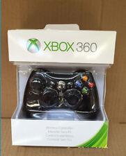 Slim Wireless Game Controller Gamepad For Microsoft Xbox 360 Windows PC Black