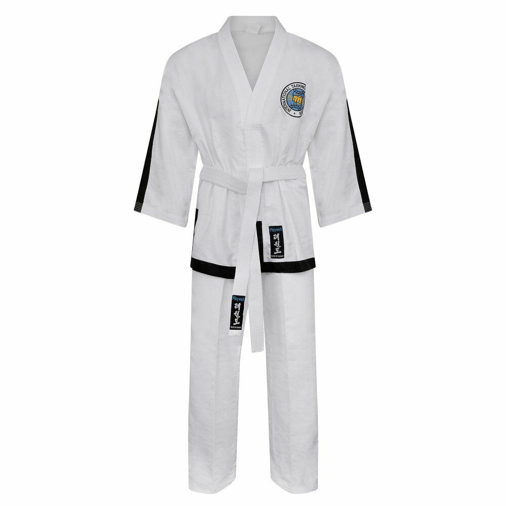 Itf Taekwondo Ultra Leggero Masters Combattenti Uniforme Ideale Gi tuttienamento