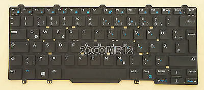 NEW for Dell Latitude 3340 3350 keyboard Norwegian NW Tastatur No Frame Black