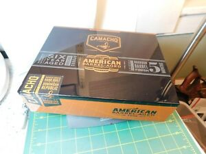 Master-Built-Series-CAMACHO-Wood-CIGAR-BOX-8-5-8-x-6-7-8-034-x-2-1-4-034-w-sleeve