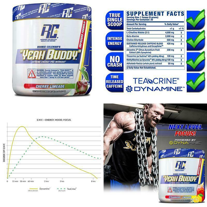 Ronnie Coleman Signature Series Yeah Buddy 30 Serve Pre