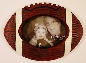 3d Football Shaped Picture Photo Frame 4x6 Boys Children S