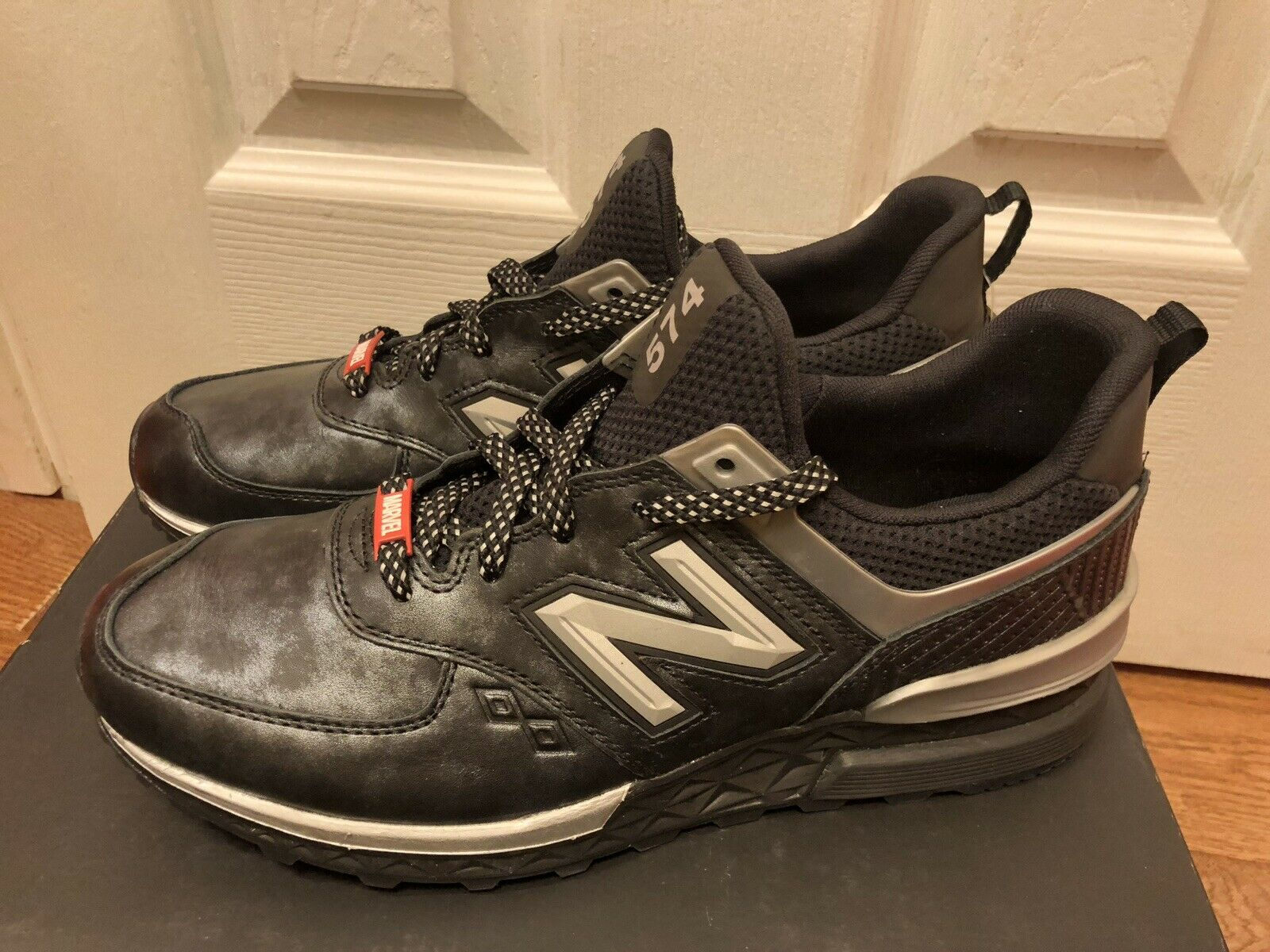 Marvel Negro Panther 574 Sport MS574BKP Zapatillas Zapatos para hombre New Balance NB