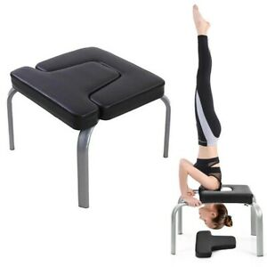 yoga inversion chair original headstand bench pv therapy
