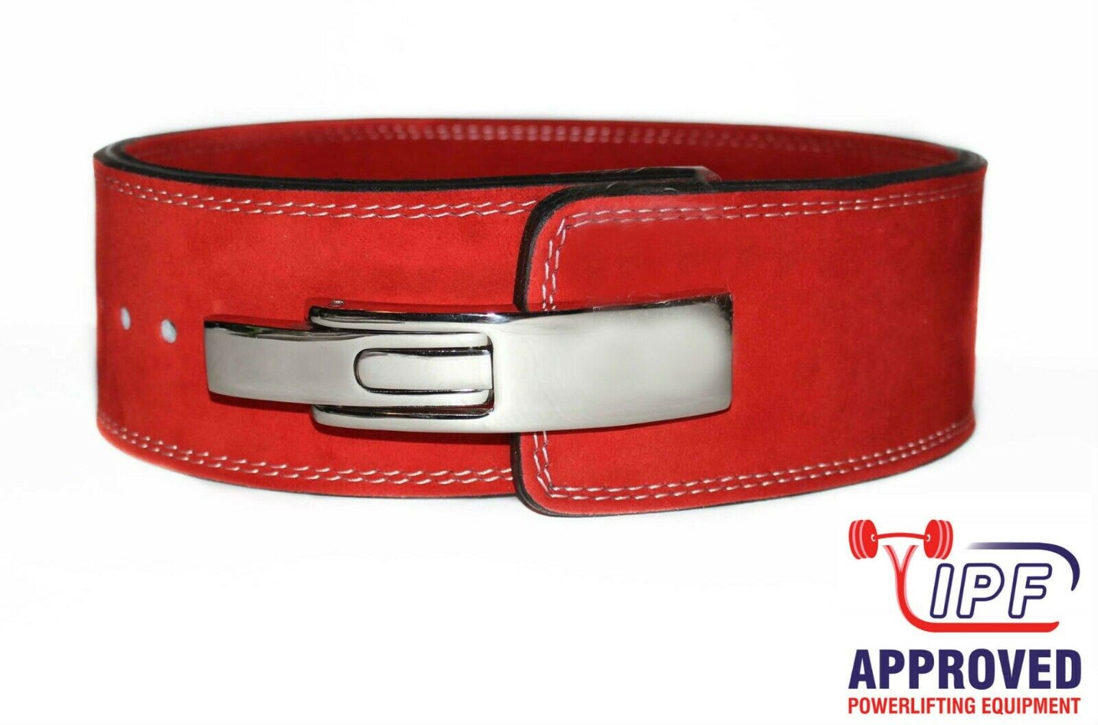 Strength Shop 10MM rot POWERLIFTING LEVER BELT (MEDIUM) - FAST SHIPPING