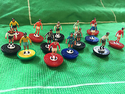 Football Cake Toppers Club Teams Decorations by Subbuteo 5 x Players