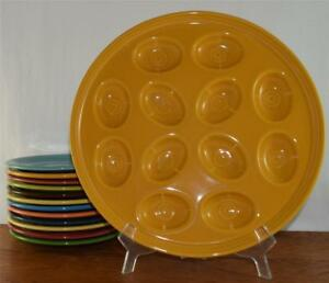 Fiesta-MARIGOLD-11-1-4-034-Egg-Plate-Tray-Discontinued-Color