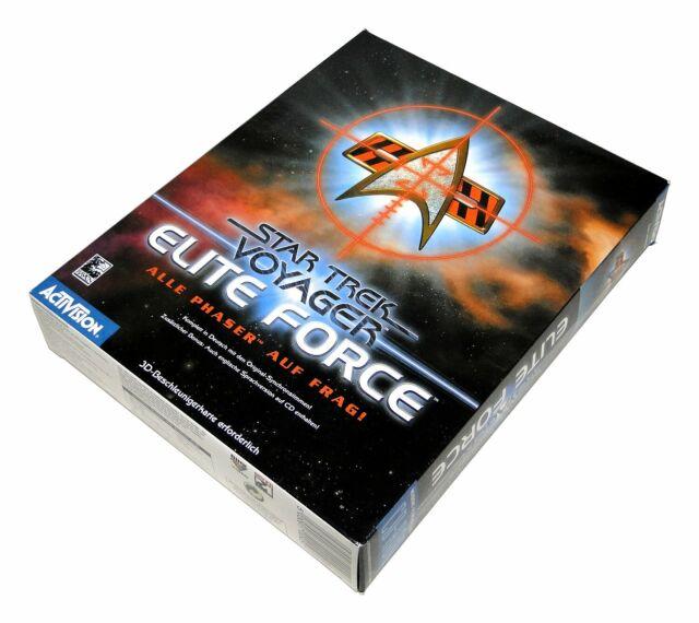 STAR TREK ELITE FORCE von Avtivision für Windows PC