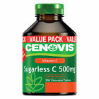 Cenovis Vitamin C 500mg Sugarless Supplement - 300 Chewable Tablets