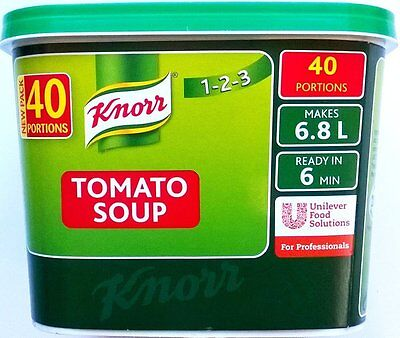 Knorr Tomato Soup - 1 x 40 portions