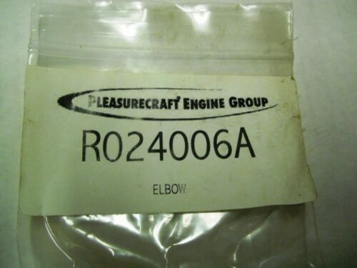 OEM Pleasurecraft Marine 90 Degree Elbow Fitting Part Number R024006A