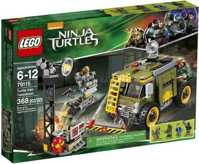 Teenage Mutant Ninja Turtles TORTUES NINJA 2014 TURTLE Van Takedown Set  79115