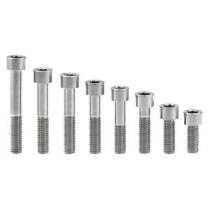 Titanium M10 x 25mm 1.5 Pitch Hex Taper Socket Cap Head Ti Bolts Screw 2//5//8pcs