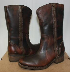 dbc5df0593dc Image is loading Born-Women-039-s-Mosse-Dark-Brown-leather-