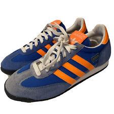 adidas Originals Samba Blue/orange Mens Low Size 6.5 Shoes ...