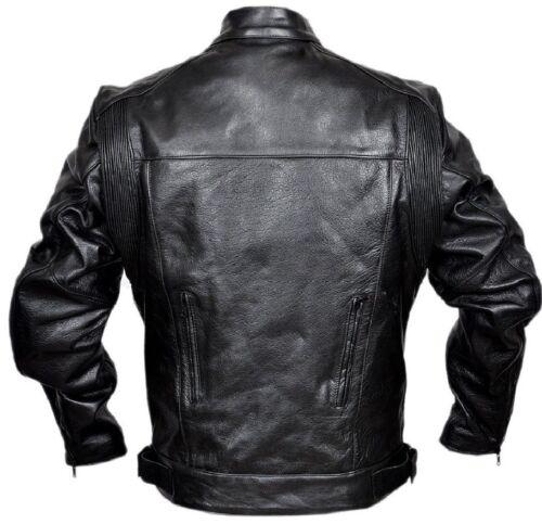 Harley Motorcycle Leather Style Jacket Biker Rider Touring Vent Motorbike Jacket