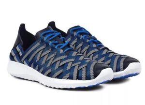 Damens's Nike Juvenate Woven Woven Woven PRM Schuhes Trainers In Blau Weiß ,Größe ... 882c65