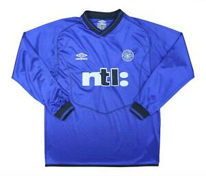 Celtic 2000-01 Authentic GK Shirt (eccellente) Y Soccer Jersey