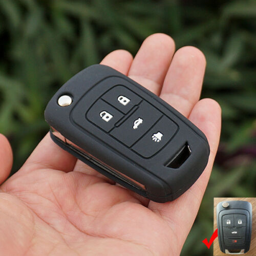 Silicone key cover case For Chevrolet Cruze Epica Lova Camaro Impala 4 button