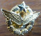 pin insigne pucelle ARMEE DE L'AIR ( doré à l'or fin ) militaria france aviation