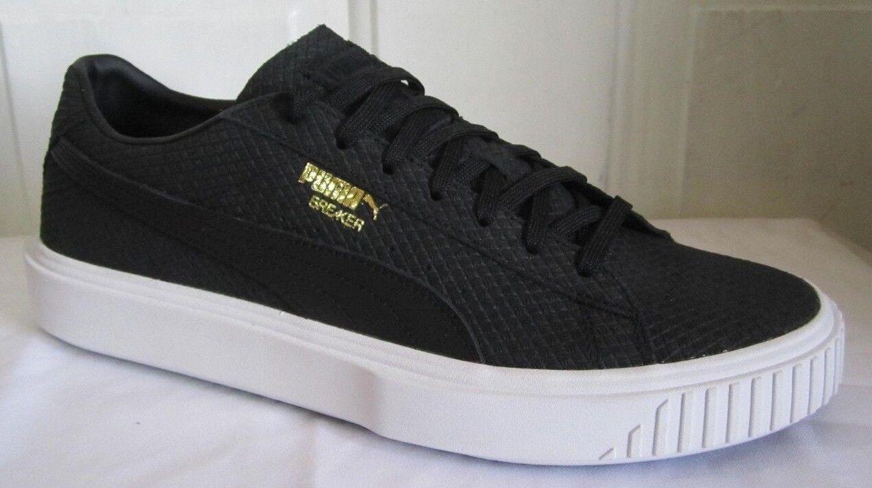 Puma Suede Breaker Suede Puma Negro Hombres zapatos 10,5 157120