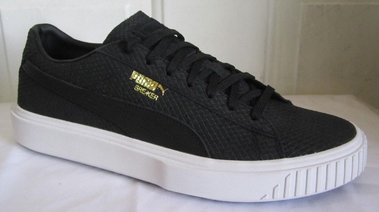 Puma Breaker Suede Noir Homme  Walking Chaussures 10.5