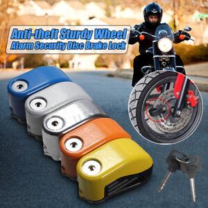 Motocicleta-Bicicleta-Ciclomotor-Scooter-Anti-robo-alarma-de-seguridad-de-bloqueo-de-freno-de-disco
